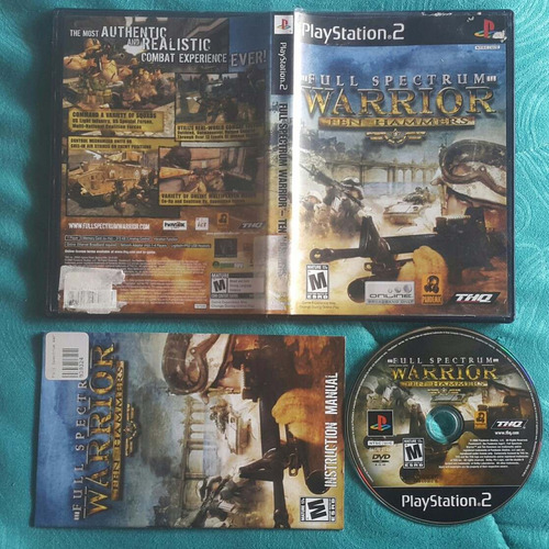 full spectrum warrior - ten hammers / playstation 2 ps2