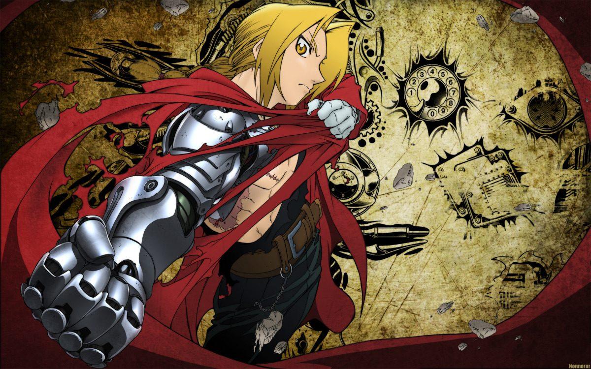 Anime Fullmetal Alchemist Brotherhood