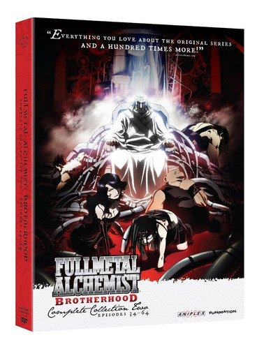 fullmetal alchemist brotherhood coleccion 2 dos anime dvd