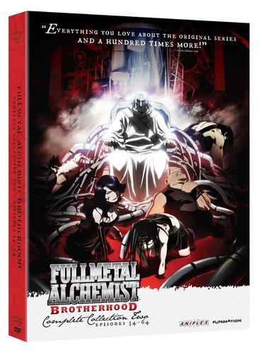 fullmetal alchemist brotherhood coleccion 2 dos anime dvd