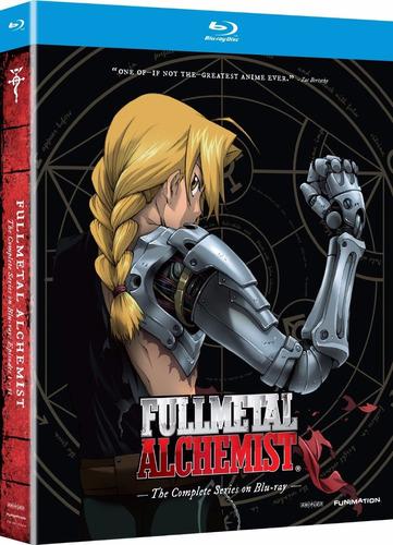 fullmetal alchemist coleccion completa importada blu-ray
