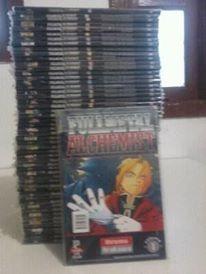 fullmetal alchemist coleção completa impecável