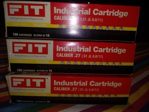 fulminantes industriales calibre 27 fit