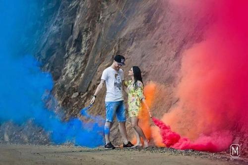 fumaça colorida bastão 20 mm - chá revelação futebol unidade