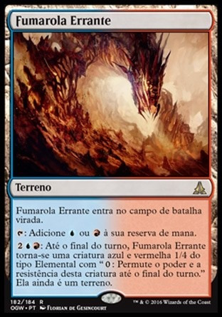 fumarola errante / wandering fumarole