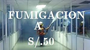 fumigacion casa, locales a s/50.00