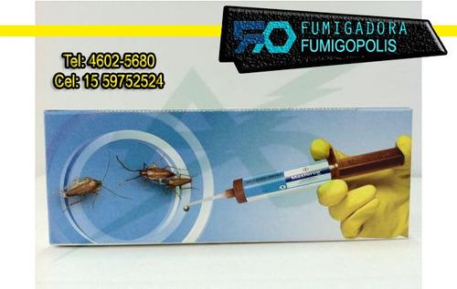 fumigacion cucarachas ratas hormig pulgas polilla $299