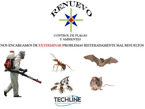 fumigación cucarachas ratas mosquito desinfeccion cap y prov