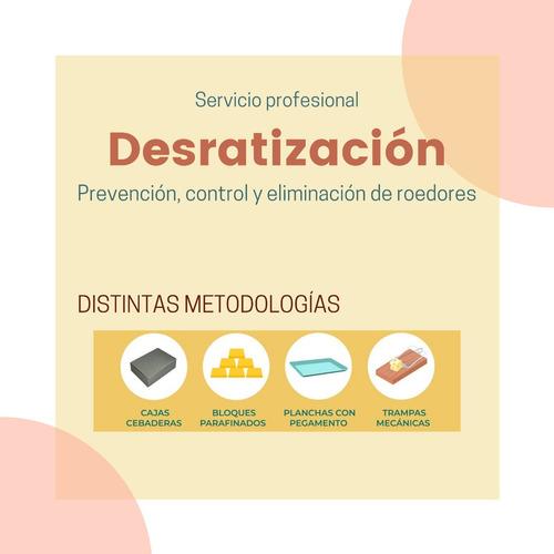 fumigación - desinfección - cucarachas - ratas - mosquitos