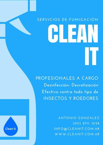 fumigacion desinfeccion desratizacion