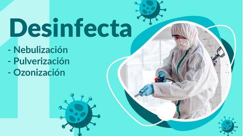fumigacion desinfeccion sanitizacion