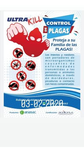 fumigación desratizacion control de plagas