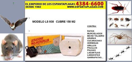 fumigacion ecologica ratas murcielagos insectos ultrasonido