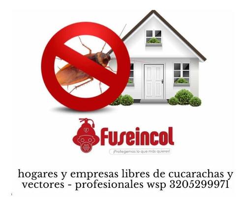 fumigacion y control de plagas residencial e industrial