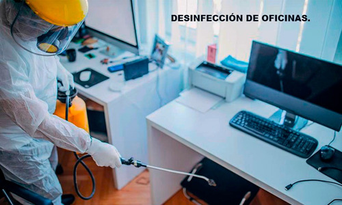 fumigación y desinfeccion contra el covid-19