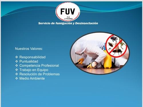 fumigación y desinfección fuv c.a