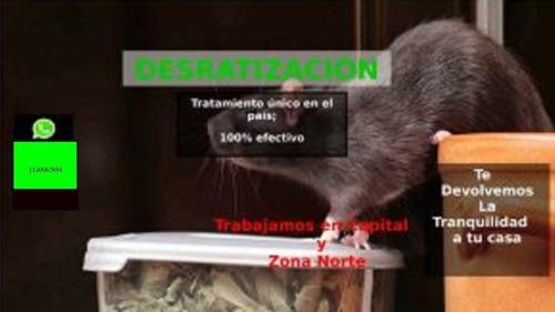 fumigacion y desratizacion