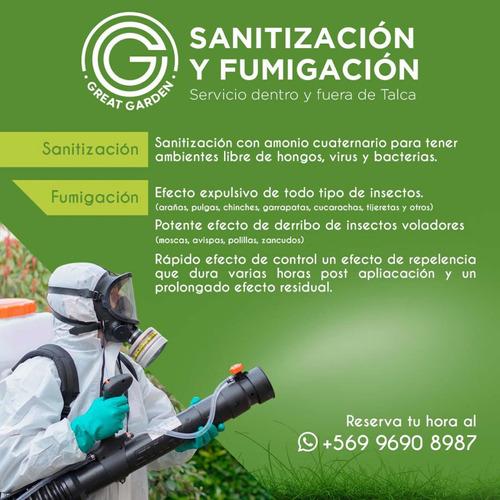 fumigación y sanitizacion