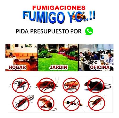 fumigaciónes control de plagas empresa habilitada gcba