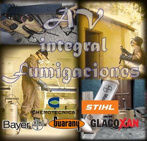 fumigaciones, control de plagas, limpieza de tanques, redes