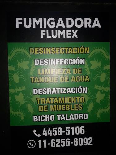 fumigaciones .desinfección. control de plaga .
