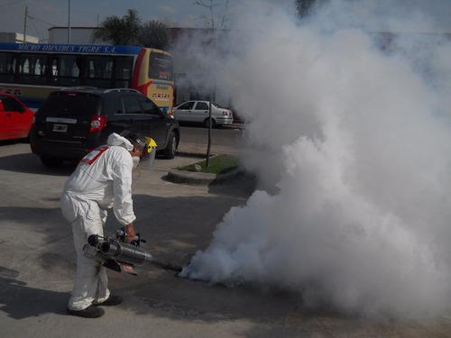 fumigaciones, desinfecciones, desratizacion, limp. de tanque