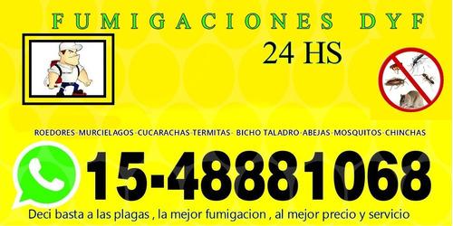 fumigaciones   fumigador  fumigacion urgencias 24hs