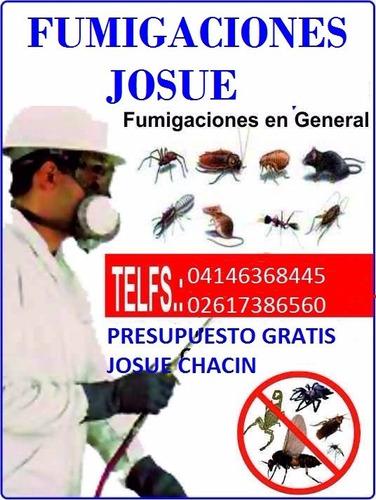 fumigaciones josue contra chiripas cucarachas etc04146368445