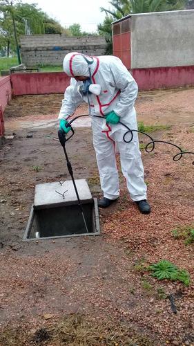 fumigaciones, servicio y mantenimiento de control de plagas.