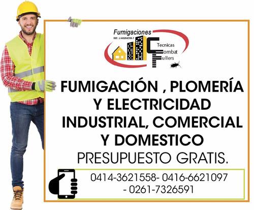 fumigaciones y plomeria en maracaibo zulia 04149681667