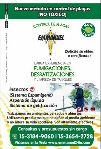 fumigador, desratizador, obleas y certificados