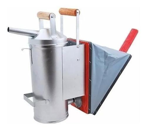 fumigador para apicola galvanizado grande zatti promoção