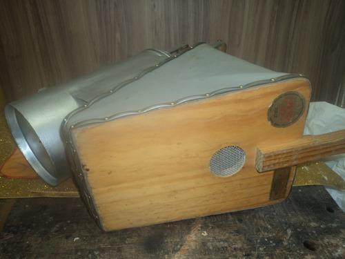 fumigador pra uso abelha etc/ grande antigo conservado /meta