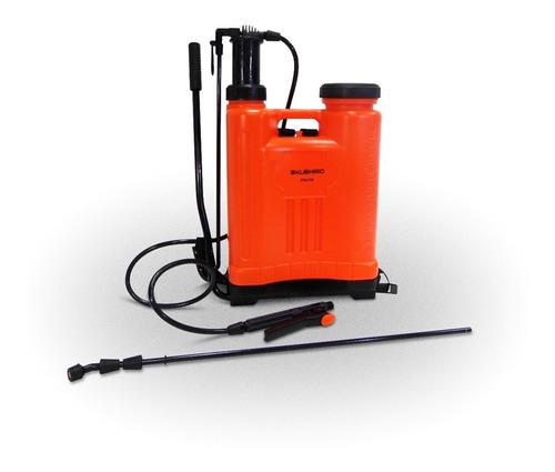 fumigador pulverizador de mochila kushiro 16 litros