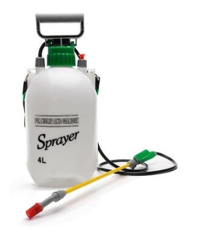 fumigadora 4 litros bomba plantas pequeñas