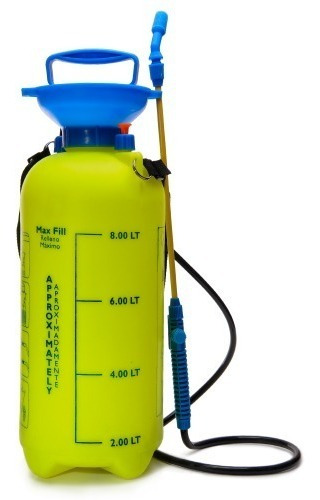 fumigadora 8 litros bomba plantas pequeñas