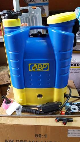 fumigadora a bateria de 16litros marca bp