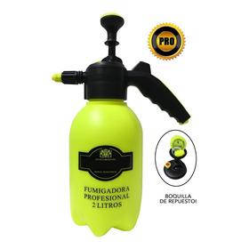 Fumigadora Aspersora Manual Profesional 2 Litros Tequendama