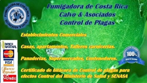fumigadora de costa rica c&a  control de plagas