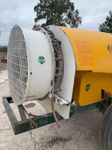 fumigadora pulverizadora atomizadora de arrastre c/ turbina