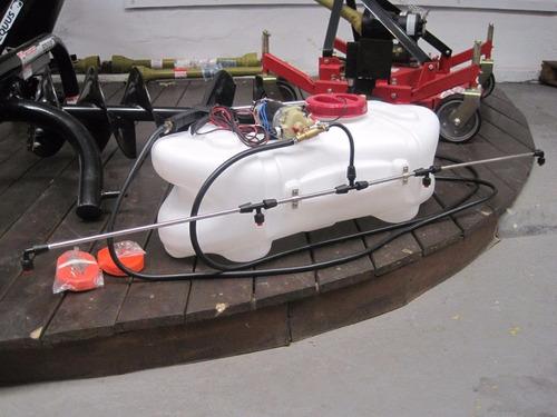 fumigadora pulverizadora equus 60l para cuatri o tractor