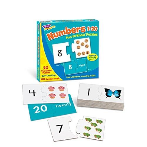 fun-a-know® puzzles números 1-20