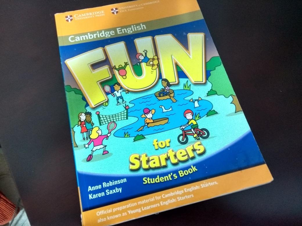 Fun For Starters Book