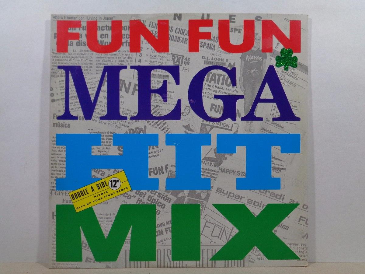 Fun Fun - Mega Hit Mix - 12'' Orig Imp Italy - Italo-disco