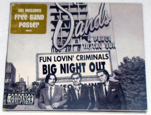 fun lovin criminals big night out cd single usa / kktus