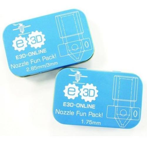 fun pack e3d. pack de 6 picos originales :: printalot