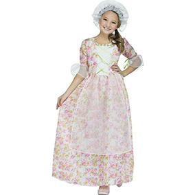 Fun World Disfraz De Colonial Girl Multicolor