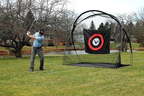 funcional malla para práctica de golf callaway 12 pies