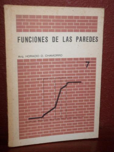 funciones de las paredes chamorro politecnico 1976
