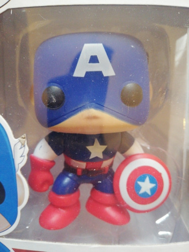 funco pop capitán américa marvel
